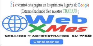 Diseño y administración sitios web